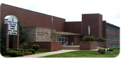 Bishop Chatard Profile of the front of the school