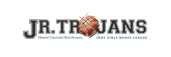 Jr. Trojan Girls Basketball Logo