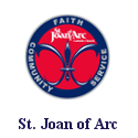 St Joan of Arc Parish Logo