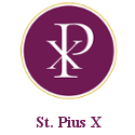 St Pius X Parish Logo