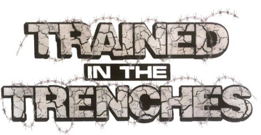 Trained in Trenches logo and link