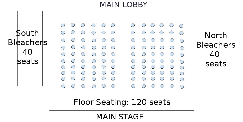 Revised Seating Chart for Footloose
